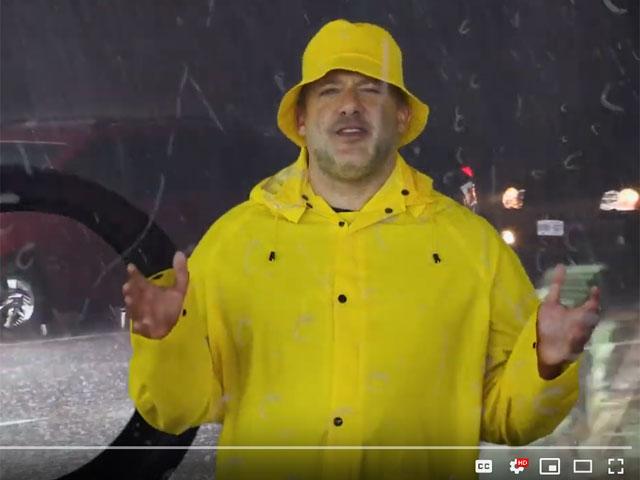 Tony Stewart Talks Driving on Wet Roads
