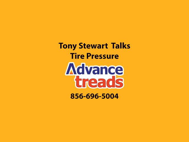 Tony Stewart Talks Tire Pressure